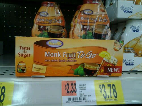 Monk fruit packet