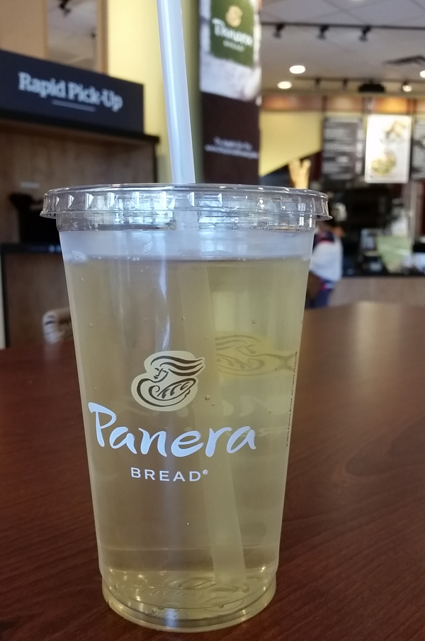 Panera Bread Passion Fruit Tea
